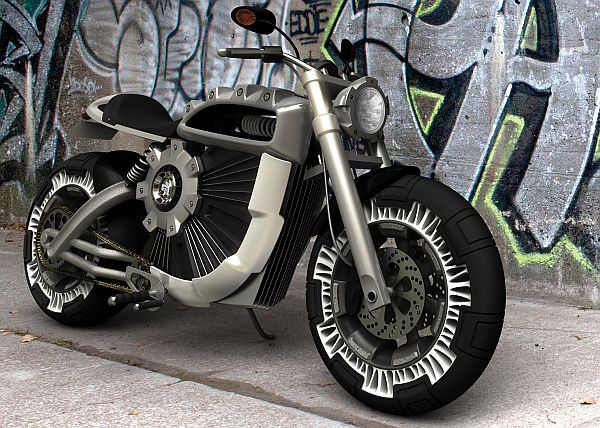 If Terminator Had An Electric Harley Back In The Future That Would Surely Look Like Conception We See Above Image Paying Tribute To Nigh