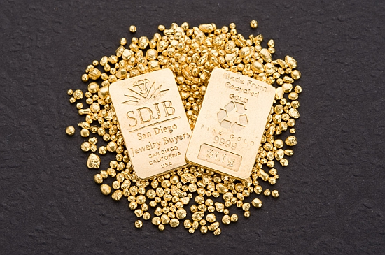 Eco tech sdjb debuts recycled gold bars to reduce mining for Used jewelry san diego