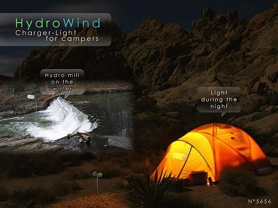 Eco Gadgets: HydroWind – A dual-mode turbine for campers - Ecofriend