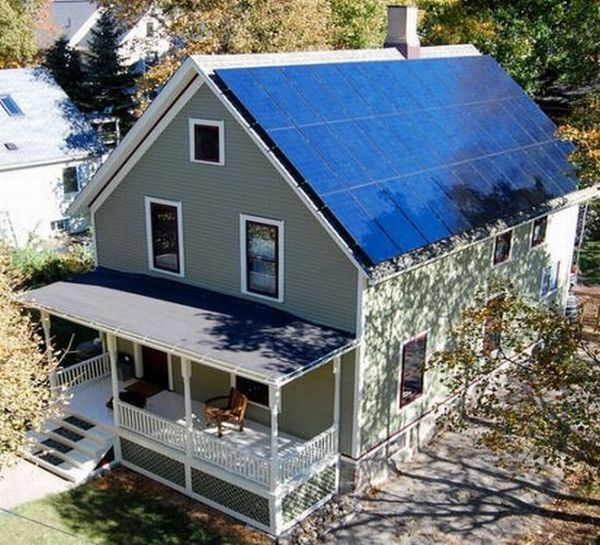 One Of The Best Features That Green Energy Sources Offer Is The Ability To  Go Off Grid. While Installation Of Photovoltaic Panels And Wind Turbines  Along ...