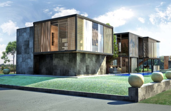 seven modern looking homes built in factories ecofriend - Modern Looking Homes