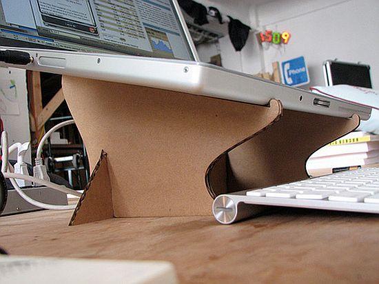 Столик для ноутбука картон