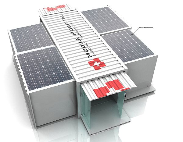 Mobile Hospital concept to bring solar power to emergency