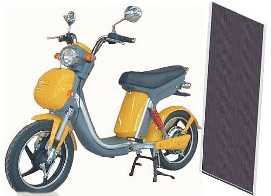 motion dynamics new pedal assisted electric bike comes with solar panels ecofriend. Black Bedroom Furniture Sets. Home Design Ideas