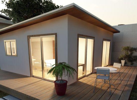 Eco homes p pod prefabricated housing kit lets you go for Eco house kit