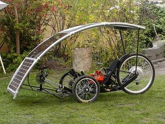 Solar Panel For Cycle Touring