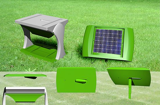 Eco Gadgets Solar Powered Pet Waste Cleaner Aims To Green