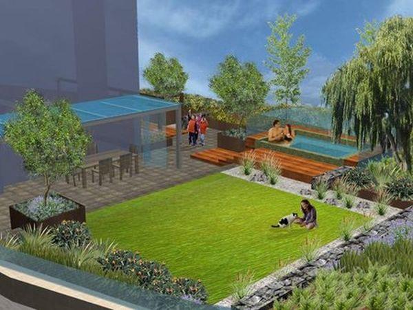 A Terrace Garden With A Green Living Space Ecofriend