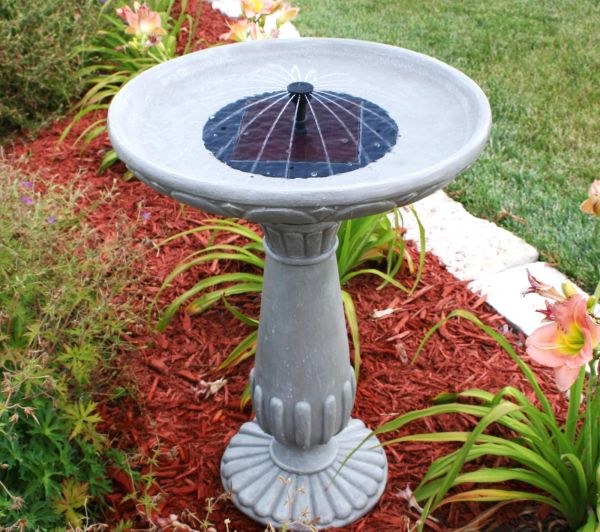 How To Make A Solar Powered Fountain Ecofriend