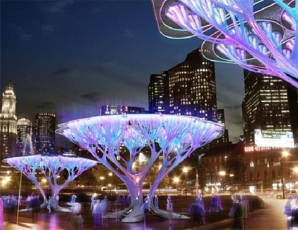 10 Stunning Solar Powered Tree Designs Ecofriend