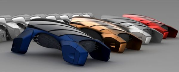 Stack Futuristic Car Seeks To Deal With Space Problems