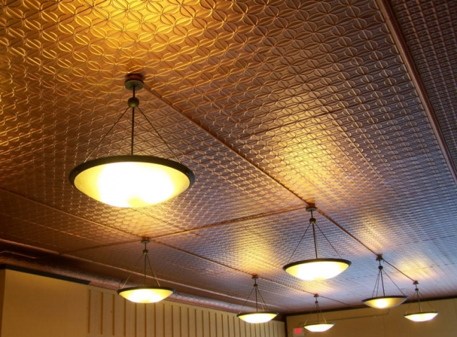 Tin Ceiling Tiles How To Add The Environmental Touch In