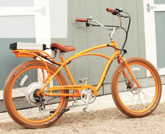 tommybahama electric bicycle. Eco Mode: Electric bicycle powered by 36-volt lithium battery to reach top speed of 20mph.