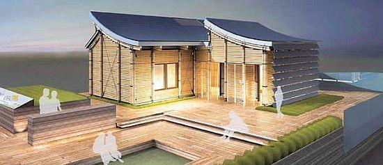 Tongji university creates self sufficient house for solar decathlon ecofriend - Self sufficient home designs ...