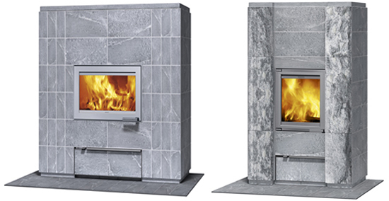 Eco friendly tulikivi fireplaces render wood free warmth for Eco friendly fireplace