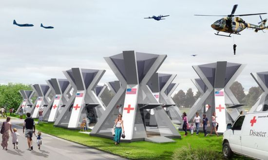 Temporary Shelter Survival Disaster : Eco homes shelter a portable green home for disaster