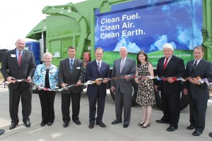 Waste management introduces eco friendly trucks