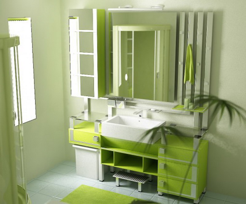 how can you tell that your bathroom is really green