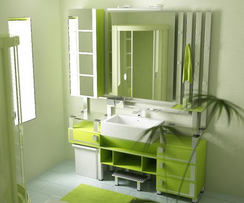 green-bathroom-ideas