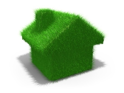 Computer generated image - Green House .