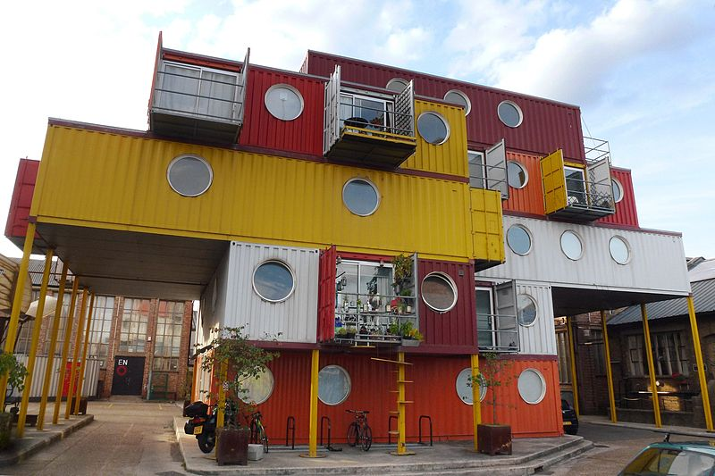 Recycled Shipping Container Buildings That Are Green Inside And Out