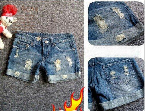 Korea-New-beauty-necessary-jean-shorts-Do-the-old-worn-retro-fashion-personality-denim-shorts-hot