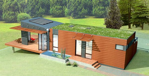 Model of an eco-friendly home