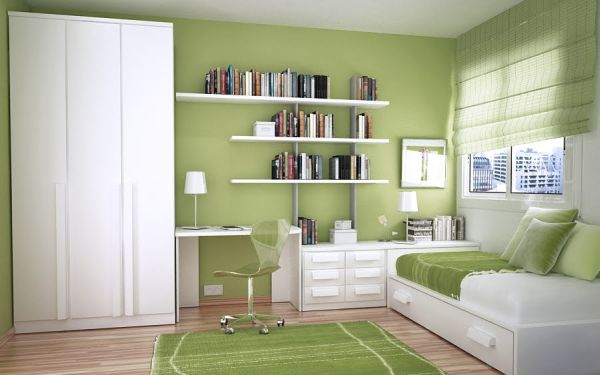 inspiring-green-kids-study-room-and-bedroom-layout