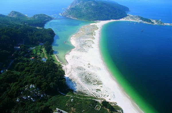 Las Islas Cies, Spain