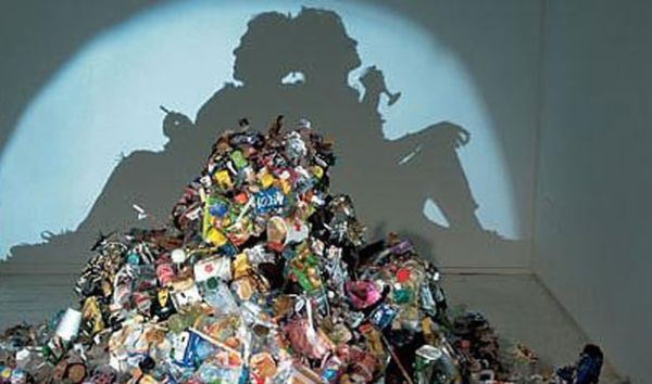 Dirty White Trash by Tim Noble and Sue Webster