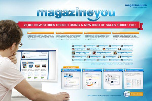 Magazine Luiza store You Shop