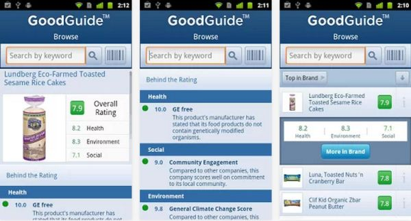 Mobile App GoodGuide