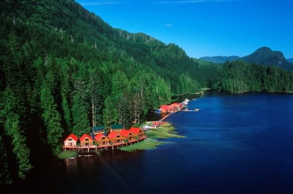 Nimmo Bay Resort, Canada