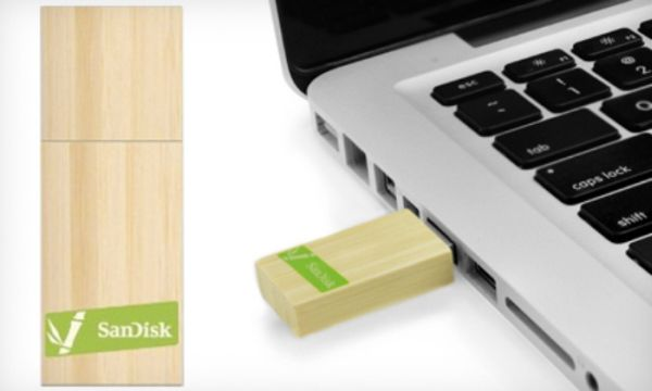 SanDisk Bamboo Flash Drive
