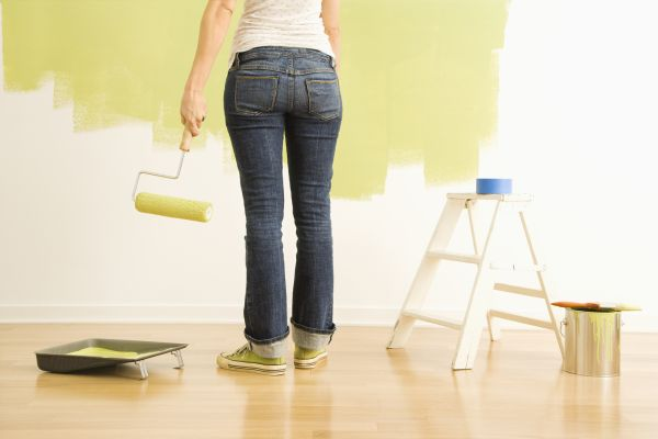 Volatile Organic Compounds used in common interior paints