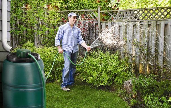 harvesting rain water for Garden