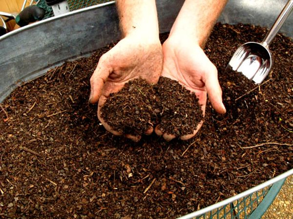 Composting on a large scale