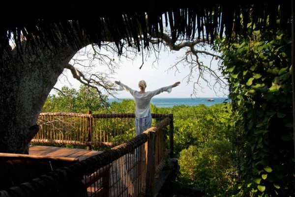 Eco-friendly lodges in Africa