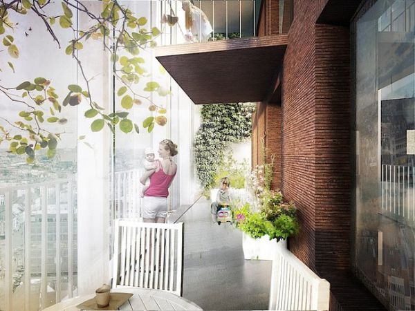 high-rise apartments by C.F. Moller Architects_1