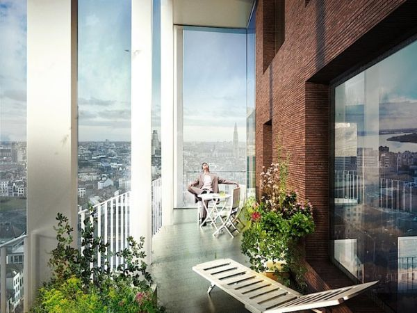 high-rise apartments by C.F. Moller Architects_2