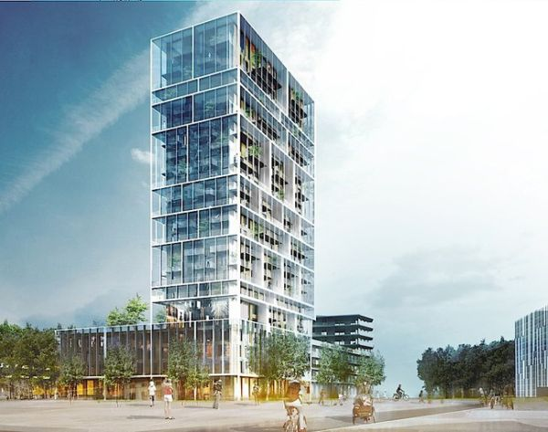 high-rise apartments by C.F. Moller Architects_3