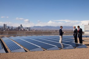 solar powered us cities