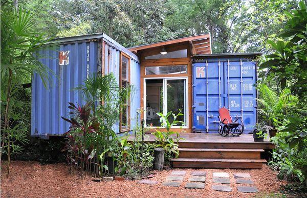 Container house Savannah, Georgia