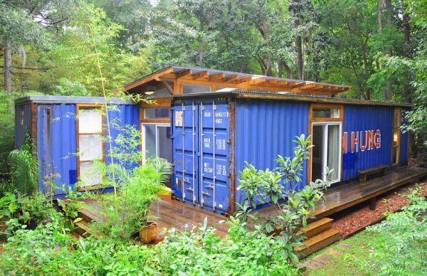 Container house Savannah, Georgia_1