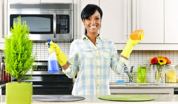 Replace your chemical cleaners with eco-friendly household cleaners