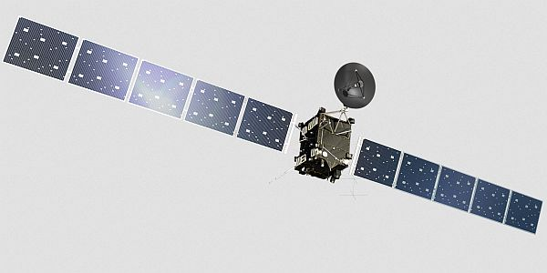 Rosetta is a spacecraft