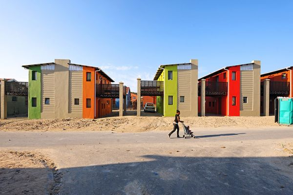 The 10x10 houses in Freedom Park