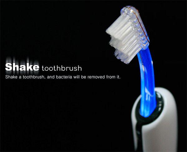 Shake toothbrush