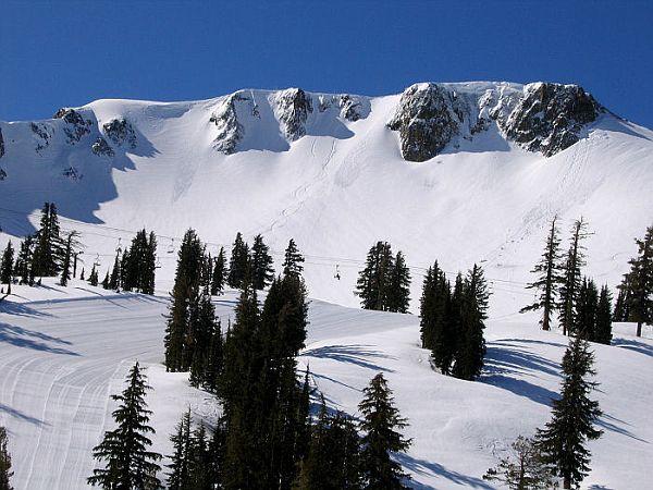 Squaw Valley USA ski resort