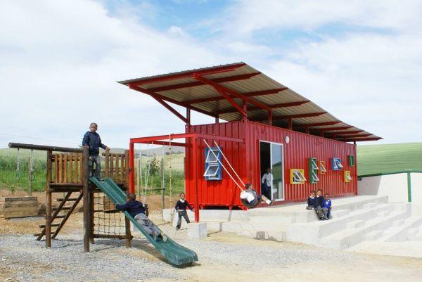 Vissershok School by Tsai Design Studiois